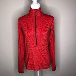 Nike Pro Polka Dot Long Sleeve Top